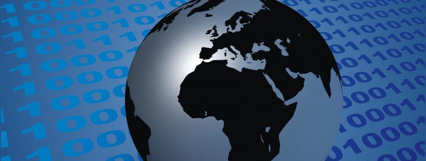 Weltkugel als Symbol für aktuelle Themen